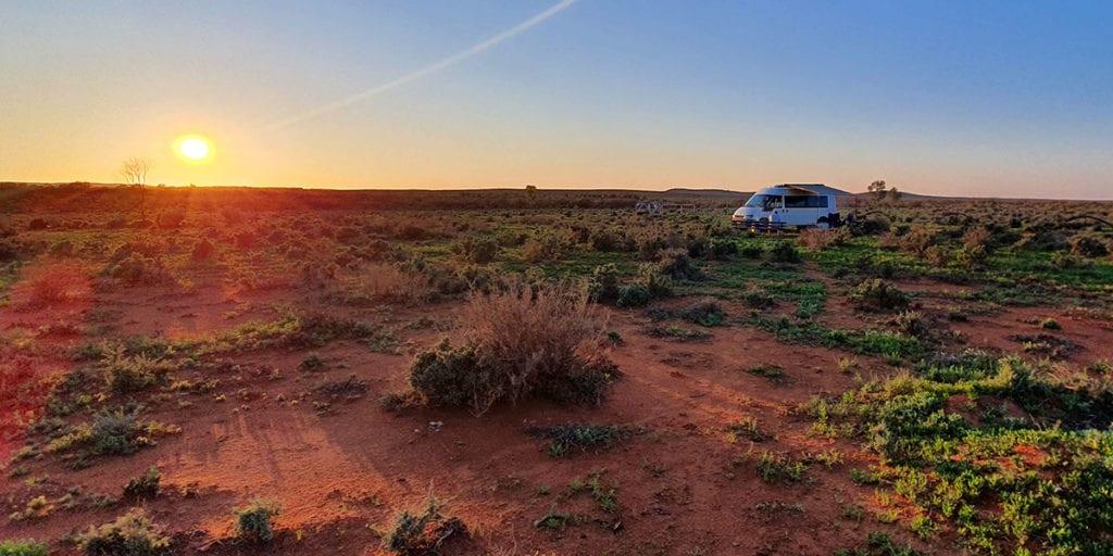 Silverton Broken Hill Outback Camping